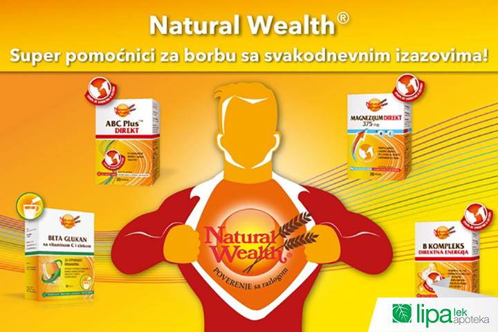 NATURAL WEALTH® PROMOCIJA